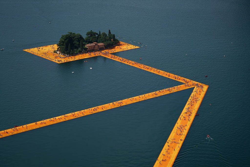 Christo-artista-The-Floating-Piers-daniele-guidi